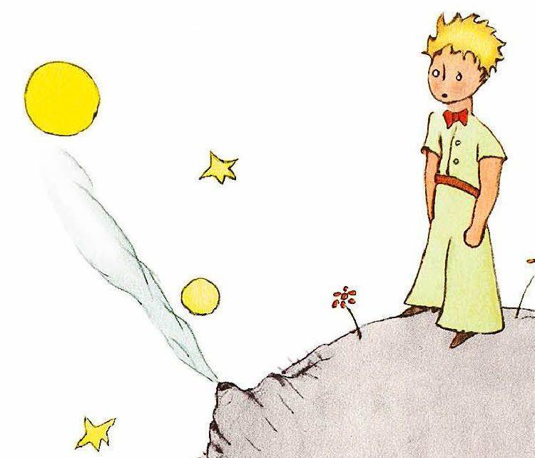 Das Original: Zeichnung von Saint-Exupéry Foto: rauch-Verlag