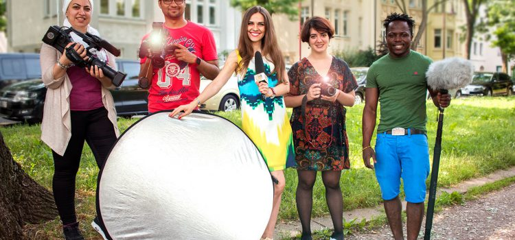 "Team Projekt ""Freiwillig im Portrait"""