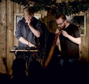 Phonetics und Didsch in Concert Foto von Benjamin Pape